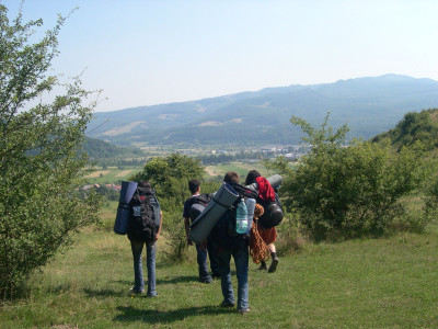 Hiking in Transylvania with the kids from Familia AMURTEL