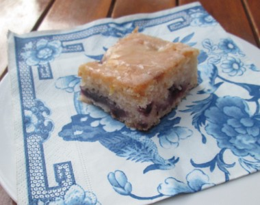 Didi's blueberry lemon cake